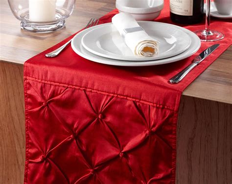 sorrento table runner red free uk delivery terrys fabrics