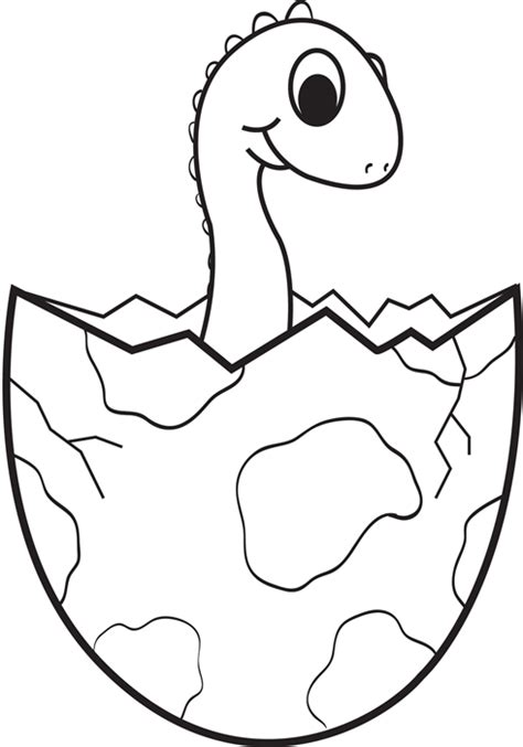 Dinosaur Egg Coloring Page dino truck coloring coloring pages