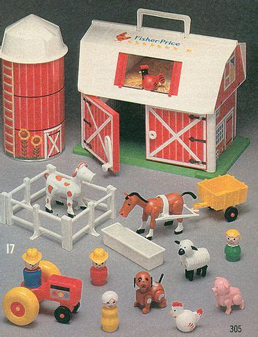 Fisher Price Farm The Moo Ing Barn Door I Remember Fisher Price Barn Door