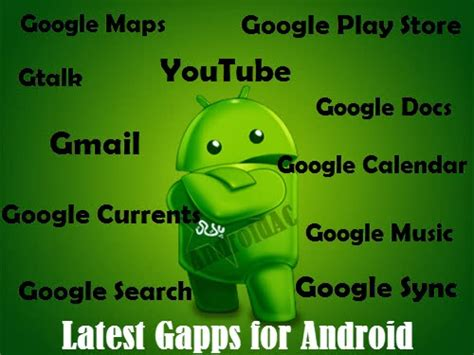 google apps gapps download latest gapps for android get the latest google apps or gapps for your android phone
