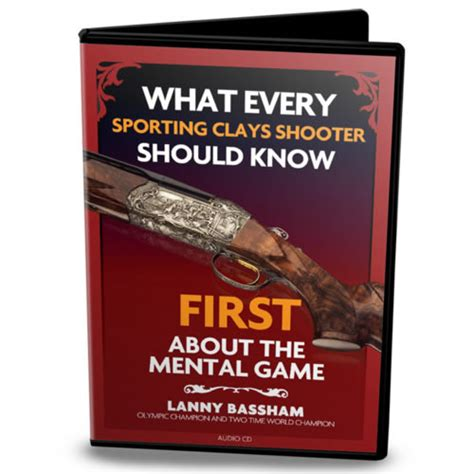 managing the mental game 0990670341 avoid the three most common mental errors for sporting clays