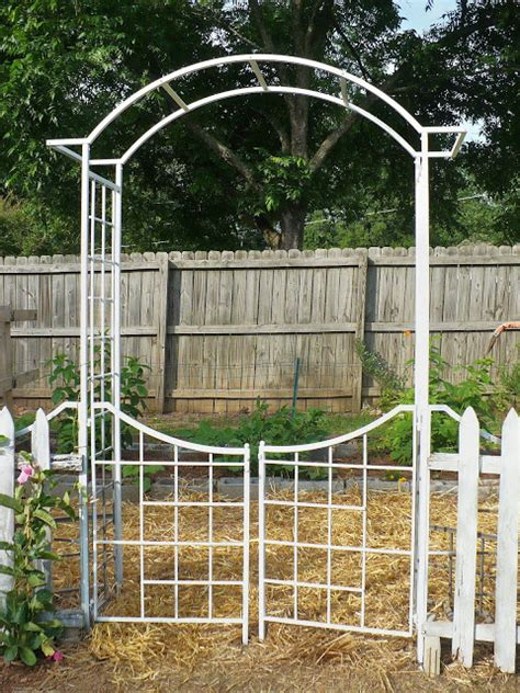 Garden Arbor With Gate For Sale My New Fruit Garden A Cultivated Nest