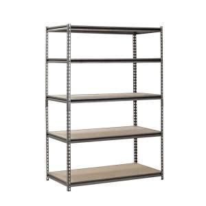 Garage Shelving Units Gumtree Rack 48 In W X 24 In D X 72 In H 5 Shelf Z Beam