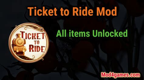 ticket to ride apk ticket to ride all items unlocked mod apk free with offline obb data archives mod4games