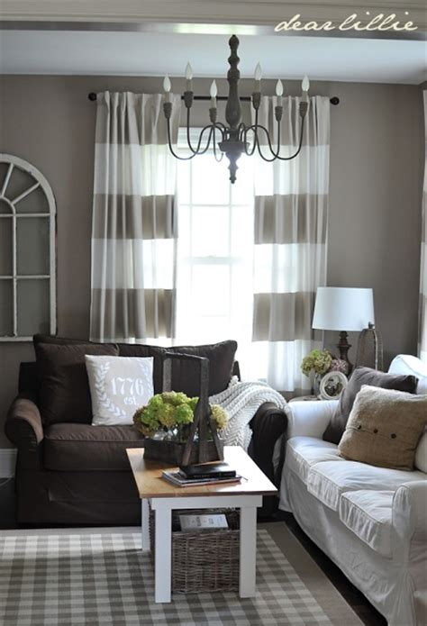 curtains for brown walls perfect grayish walls and cute curtains to go with my