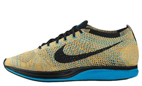 Nike Flyknit Racer Bright Citrus Premium Original 1 nike air 1 navy independence day the sole supplier
