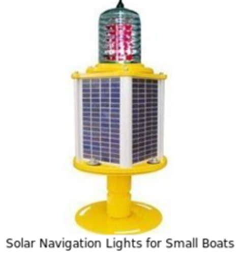 solar powered boat navigation lights solar powered navigational lights solar powered