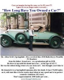 Allen Rolls Royce Strange Story Of Mr Allen Owned Same 1928 Rolls