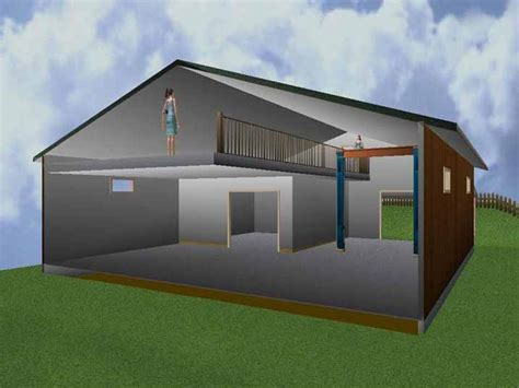 build a shop 40x60 shop with living quarters plan joy studio design