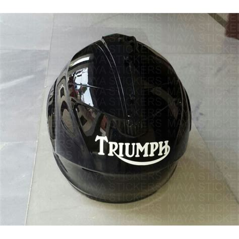 Aufkleber Triumph Logo by Triumph Motorcycles Logo Stickers Decals Pair Of 2