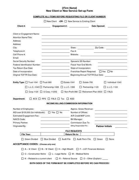 customer setup form template customer setup form template choice image template