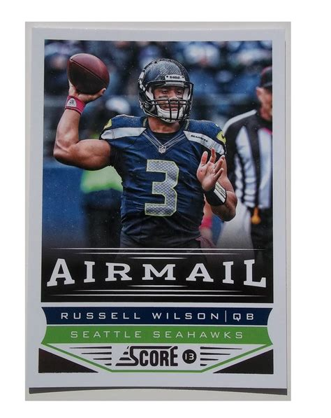 how to make football cards wilson score with score 2013 top pull cards