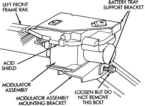 repair anti lock braking 1994 chrysler town country instrument cluster repair guides bendix system 4 anti lock brake system modulator assembly autozone com