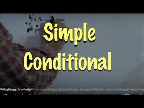 youtube tutorial de ingles ingl 201 s 28 simple conditional would ingl 233 s para