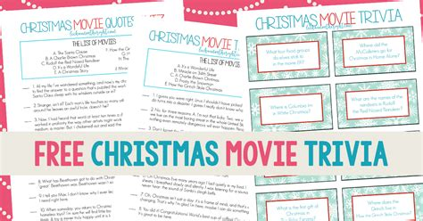 christmas film quiz online free printable christmas movie trivia christmas game night