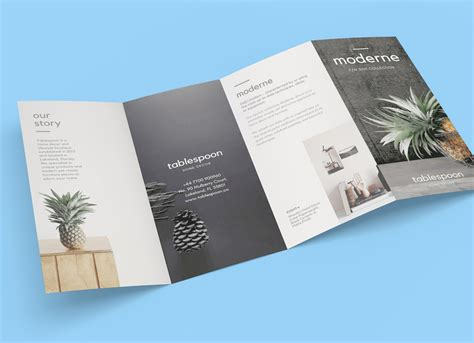 4 fold brochure template four fold brochure templates free d templates