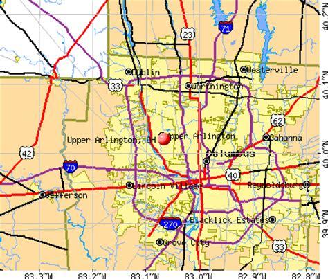 zip code map upper arlington ohio upper arlington ohio oh 43221 profile population maps