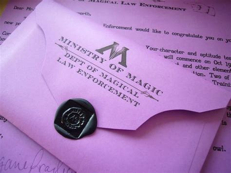 ministry of magic identity card template the world s catalog of ideas