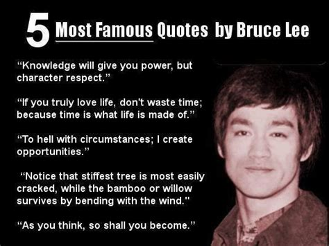 Famous Quotes Life Photograph | Most Famous Quotes By Bruce