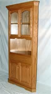 Oak Corner Dining Room Hutch Gateway Iv Real Solid Oak Furniture