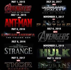 Most anticipated movies releasing in 2015 2016 2017 2018 and 2019