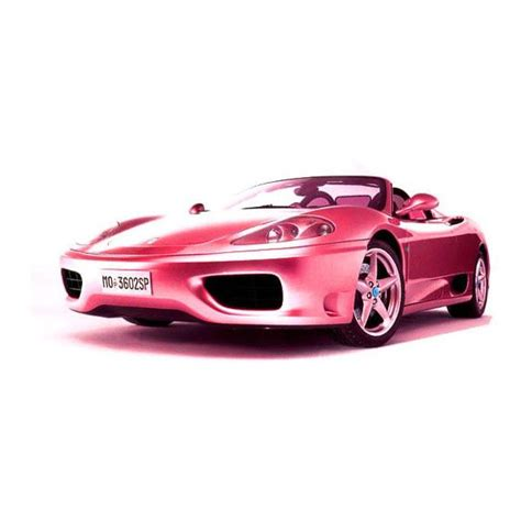 real barbie cars pink ferrari real life size barbie car cars pinterest