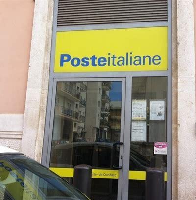 ufficio postale orari sabato bitonto ufficio postale di via crocifisso da settembre