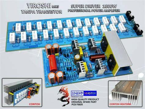 Kit Driver Yiroshi jual power kit lifier audio profesional yiroshi driver
