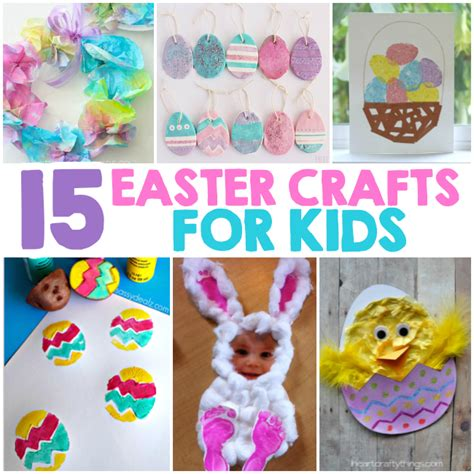 easter ideas for kids 15 easter crafts for kids i heart arts n crafts