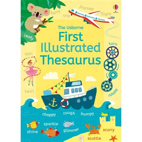 Usborne First Thesaurus Literacy From Early Years
