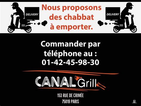 Canal Grill by Restaurant Canal Grill Israeli Restaurant