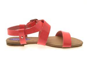 womens summer shoes womens patent flat strappy sandals summer buckle