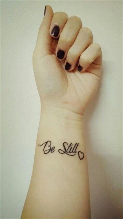 25 beautiful be still tattoo be still and that i am god www pixshark