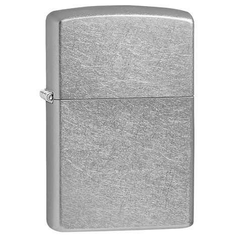 chrome zippo zippo street chrome regular lighter fire starters