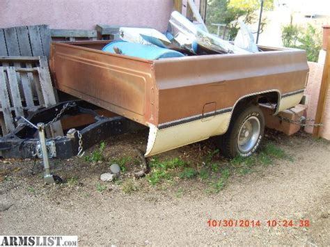 pickup bed trailer armslist for sale trade 78 chevy truck bed trailer
