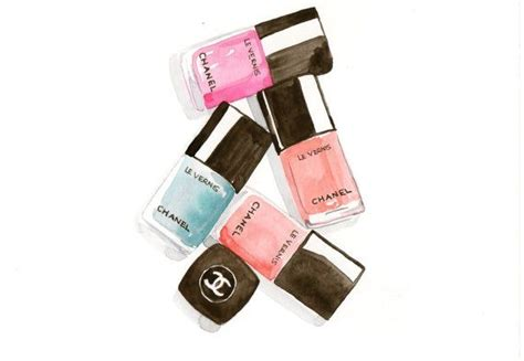 nail polish illustrations images  pinterest