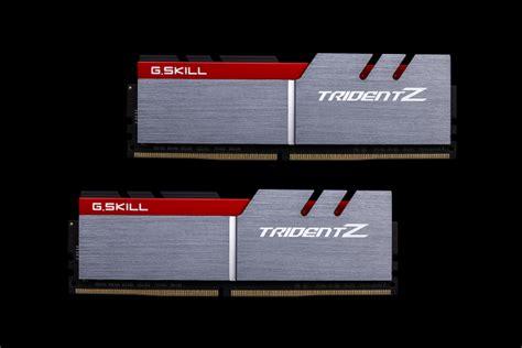 Gskill Ddr4 Tridentz Pc25600 32gb 2x16gb Dual F4 3200c16d 32gtz g skill trident z ddr4 32gb kit 2x16gb 3000mhz cl14 f4