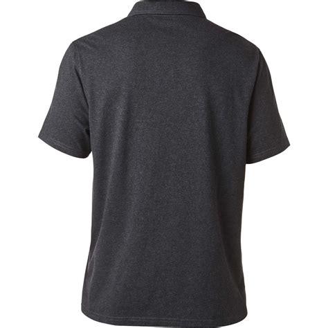 Polo Shirt Fox Racing legacy polo shirt htr blk sp17 foxracing