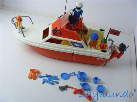 playmobil boat 3498 vintage pleasure boat playmobil 3498 from sort it