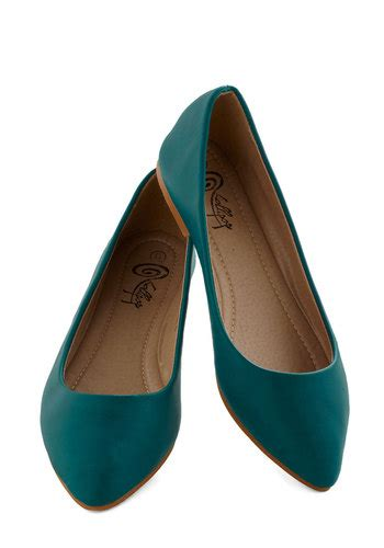teal flat shoes defined the flat in teal mod retro vintage flats