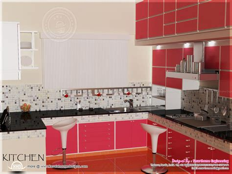 middle class kitchen designs home interior design by smarthome engineering thrissur