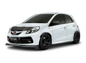 brio honda honda brio black modified