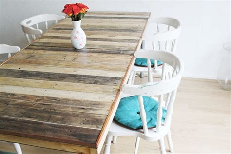 Industrial Style Dining Room Tables by Table En Palette 44 Id 233 Es 224 D 233 Couvrir Photos