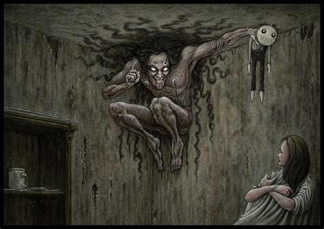 Climbing Walls Things To Do nightmare by jflaxman on deviantart