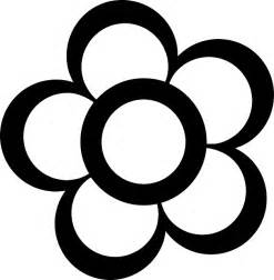Black Outline by Black Simple Outline Drawing Flower White Flowers Domain Pictures Free Pictures