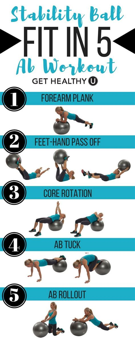 printable exercise ball routines 25 best ideas about swiss ball exercises on pinterest