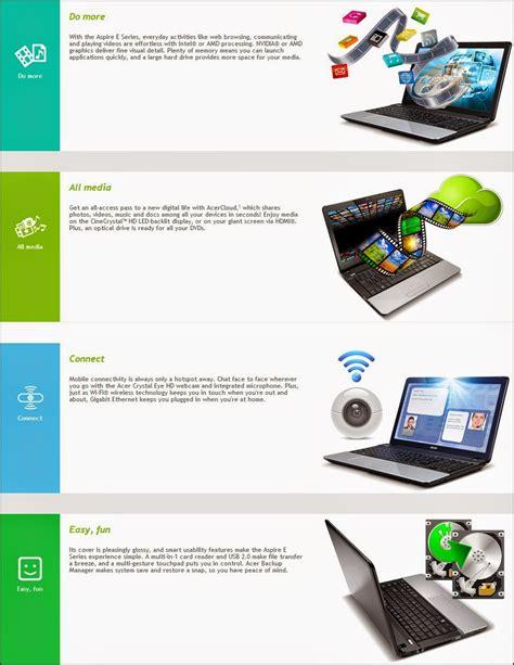 Dan Spesifikasi Laptop Acer Aspire E1 471 spesifikasi dan harga acer aspire one e1 471 terbaru