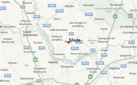 pavia weather mede location guide