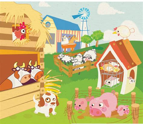 imagenes infantiles granja imagen granja imagui