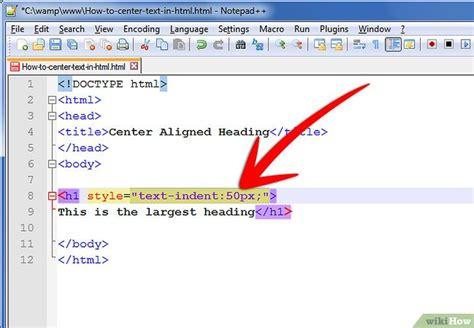 membuat tabel html rata tengah cara membuat teks rata tengah di html wikihow